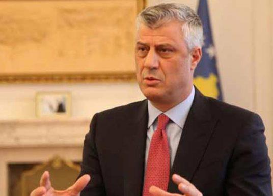 Thaçi: Dialogu do të vazhdojë në nivelin më të lartë