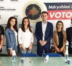 Arlind Vokshi merr pozitën e nënkryetarit të të rinjve në ARK