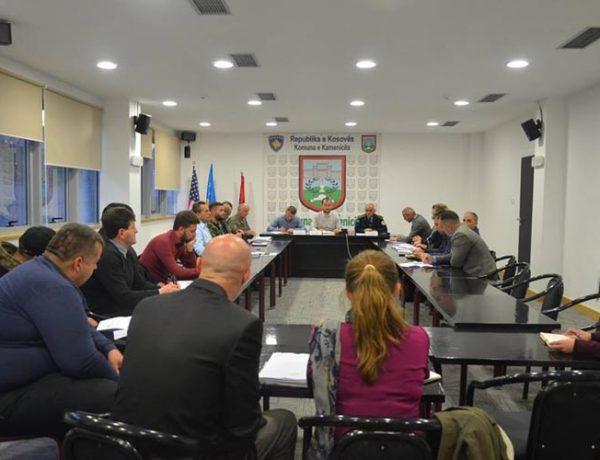 Në Kamenicë diskutohet për çështjen e sigurisë