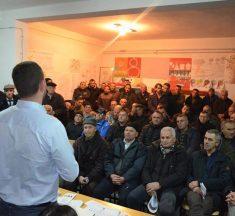 Në fshatrat e Kamenicës diskutohet për procesin e rindërtimit të kadastrit