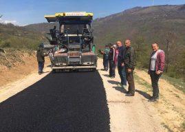 Dazhnica bëhet me rrugë të asfaltuar
