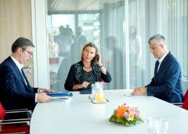 Politikani gjerman: Mogherini ka nxitur planet për shkëmbim territoresh