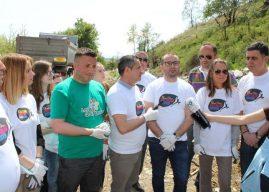 """Në Ditën e Tokës, Gjilani vazhdon aksionin """"Ta pastrojmë Kosovën"""""""