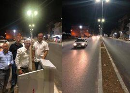 Rexhep Kadriu: Gjilani po ndryshon 100%, ndriçohet rruga e Ferizajit, në hyrje të Gjilanit