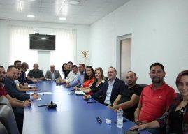 Asamblistët e LDK së Gjilanit unik në mbështetje të Vjosa Osmanit dhe kandidatëve për deputet