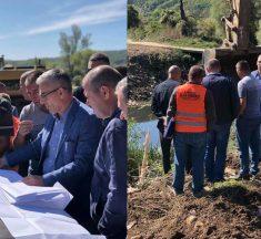 Rexhep Kadriu merr pjesë në fillimin e punimeve në Urën e Dobërqanit