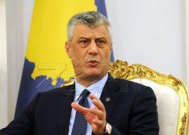 Thaçi kërkon hetim profesional nga institucionet për të zbardhur dyshimet për helmimin e zyrtarëve të KQZ-së