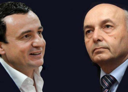 Kurti flet për takimet me LDK-në, thotë se për ndarjen e ministrive do të merret vesh me Isa Mustafën