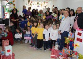 Fëmijët e IP Dardania të Gjilanit shpërndajnë 120 dhurata për fëmijët me nevoja të veçanta