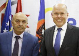 Mustafa: Jemi të bindur se Beyer do të mbrojë interesat e shtetit tonë