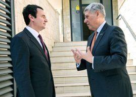 Ambasadori amerikan: Albin Kurti të mos sillet si kryeministër i Shqipërisë Veriore