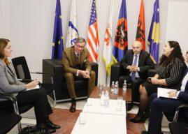 Mustafa takoi ambasadorin gjerman, flasin për rrjedhjen e bisedimeve me Vetëvendosjen