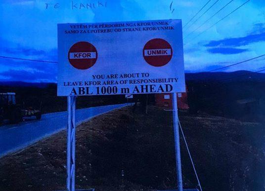 Lenjani: Do t`i kundërshtojmë fuqishëm tabelat sepse i mundësojnë Serbisë legalizimin e rrugës në territor të Kosovës