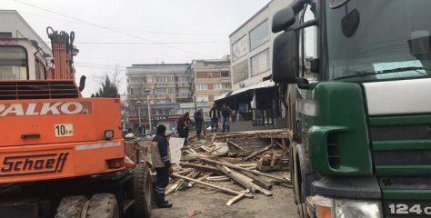 Gjilani nis aksionin për lirimin e hapësirave private dhe publike te Shtëpia e Mallrave