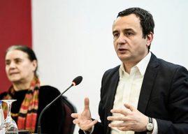 """""""S'mund të bëhet njëanshëm"""", Albin Kurti thotë se u mundua boll për marrëveshje"""