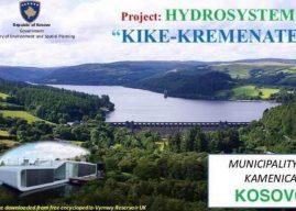 Matoshi: Komplet Hidrosistemi Kikë – Kremenatë do na shërbejë si model për ndërtimin e shumë tjerëve në Kosovë