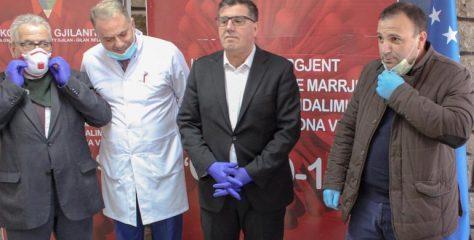 """Gjilani pranon një aparat oksigjeni nga """"Bio Lab"""""""