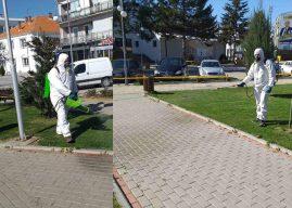 Vazhdon dezinfektimi i hapësirave dhe objekteve publike në Viti