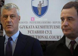 Formimi i Qeverisë së re, në rast se Kurti nuk i kthen përgjigje Thaçit atëherë presidenti i drejtohet Gjykatës Kushtetuese