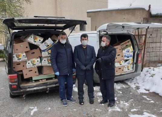 KBI ndanë 100 pako ushqimore dhe 3750 kg miell për nevojtarët e Gjilanit