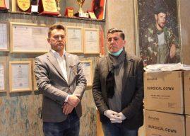 """Haziri e falënderon kompaninë """"AR Katana"""",  për kontigjentin e katërt të ndihmave kundër Covid-19"""
