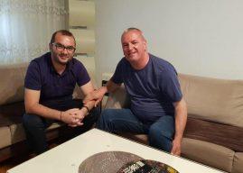 Gjest i madh i Arbër Ismajlit, takohet me Fadil Osmanin, e quan zyrtar të ndershëm e bashkëpunues