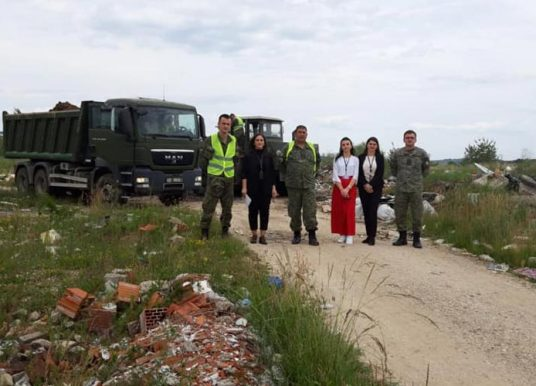 Ismajli falënderon FSK për kontributin e madh të saj për largimin e mbeturinave