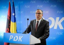 PDK'ja vendos t'ia votojë marrëveshjet ndërkombëtare Qeverisë Hoti