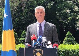 Presidenti Thaçi: Rritja e numrit të të vdekurve nga COVID-19 është dëshmi se rreziku është ende i lartë