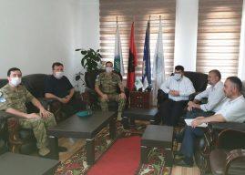 KBI në Gjilan priti në takim lamtumirës Komandantin e LMT-së Balik