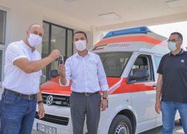 Kuvajti i dhuron Kamenicës donacion një autoambulancë