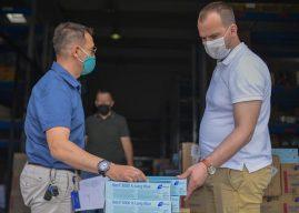 UNMIK dhuron donacion për Komunën e Kamenicës