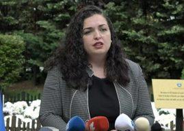 Pas problemeve me LDK'në dhe shkarkimit nga pozitat, Vjosa Osmani flet për të ardhmen e saj politike