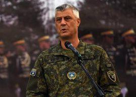 Thaçi: Krenar me rrugëtimin dhe transformimin e TMK-së në ushtri
