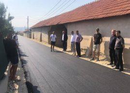 Haliti viziton punimet infrastrukturore të cilat po zhvillohen në territorin e Komunës së Vitisë