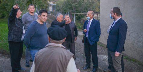 Në Kamenicë po realizohen disa projekte në fushën e kanalizimit dhe ujësjellësit