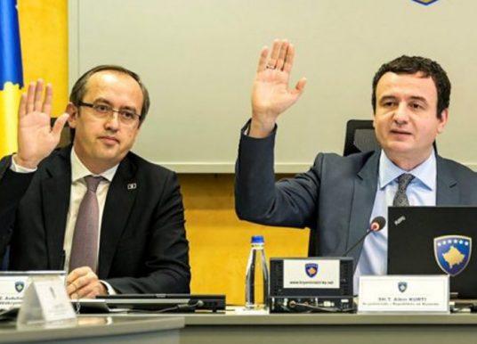Hoti flet për mundësinë e koalicionit me VV'në pas zgjedhjeve