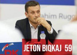 Jeton Biqkaj: Do të jem zëri i fuqishëm i qytetarëve në Parlamentin e Kosovës