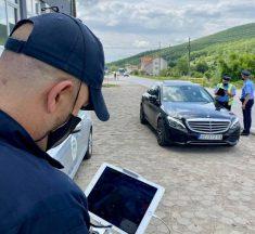 """Policia e Kosovës në Rajonin e Gjilanit po vazhdon me zbatimin e planit operativ """"Siguria në komunikacion"""""""