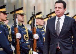 Kurti: Investimi në ushtri mbetet prioritet i yni, synojmë mbrojtjen e sovranitetit e territorit