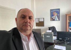 Reagon Enver Shabani, nënkryetari i parë i PDK-së në Gjilan