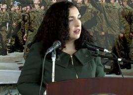 Betimi i rekrutëve të rinj, Osmani: Ushtarët tanë do të jenë kudo që rrezikohen interesat e shtetit tonë dhe aleatëve